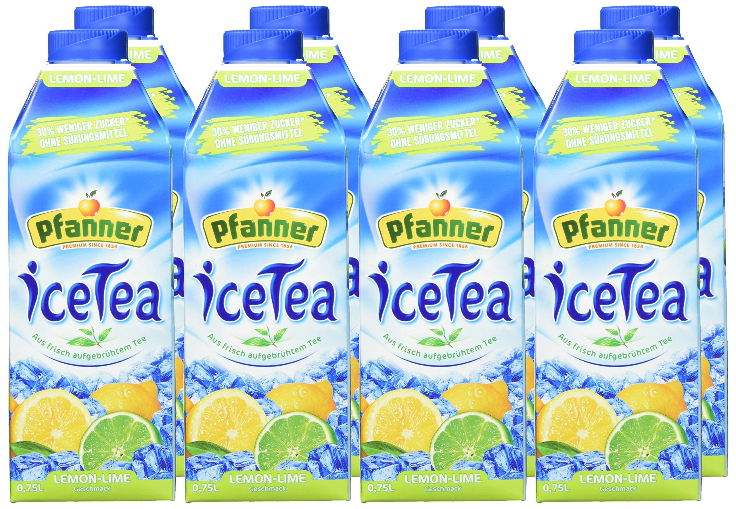 Pfanner-Eistee-Lemon-Lime-zuckerreduziert-8er-Pack-8-x-750-g
