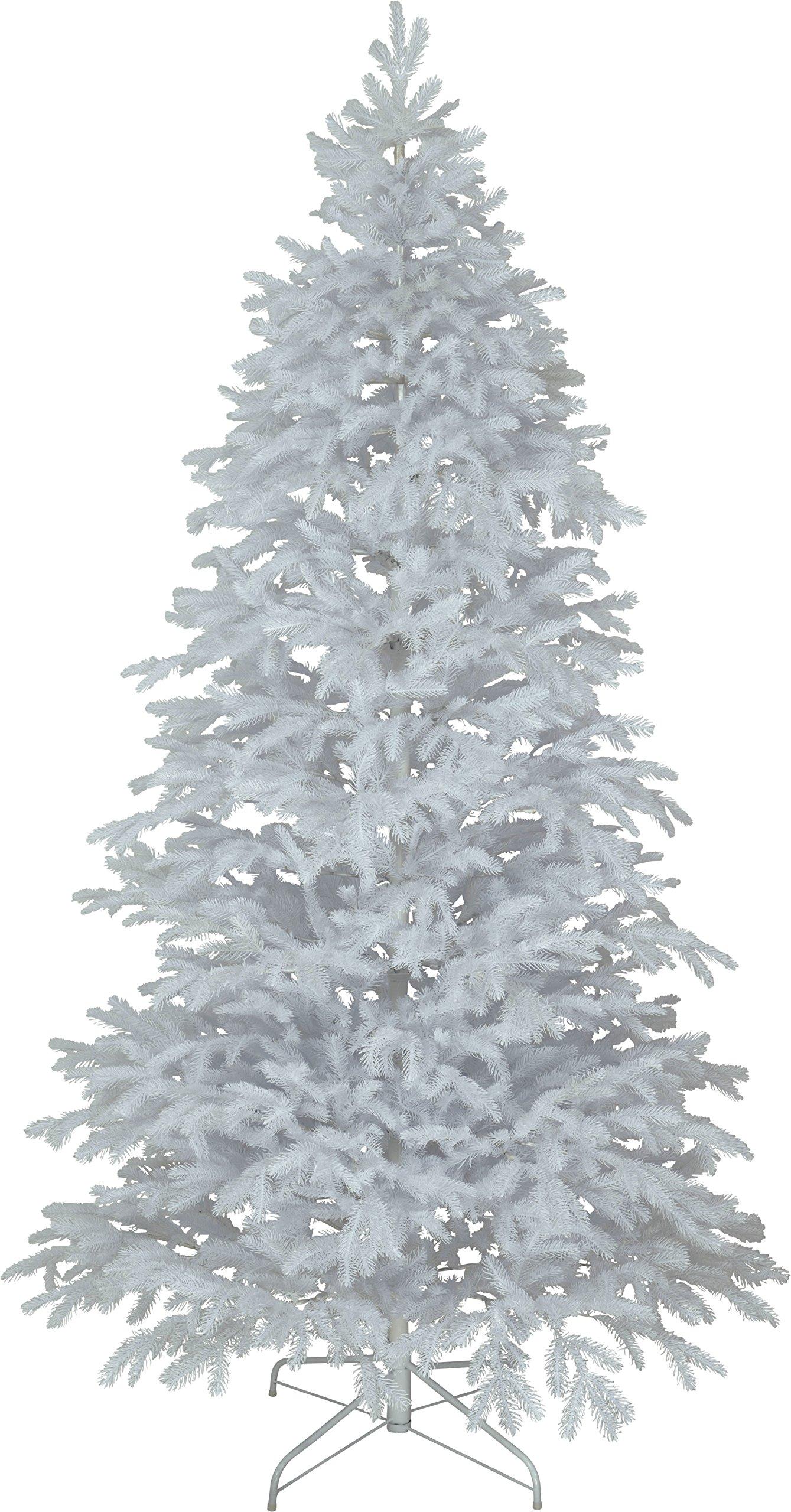 Star-WeihnachtsbaumRyda-mit-Metallfu-Full-PE-Plastik-wei-126-x-126-x-225-cm