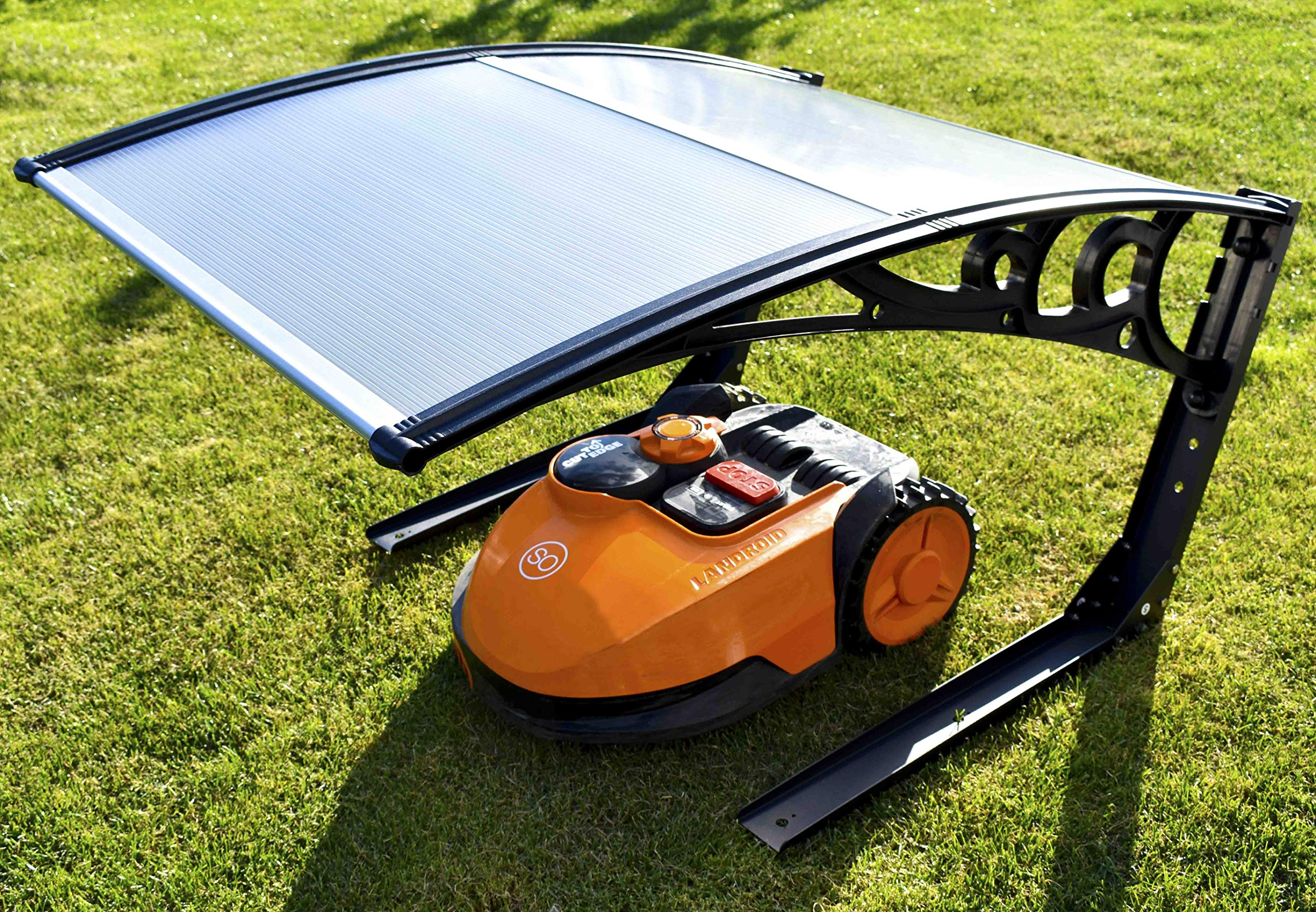 SHS-Mhrobotor-Garage-Rasenmher-Roboter-Carport-fr-Rasenmher-Automower-Mower-Robot