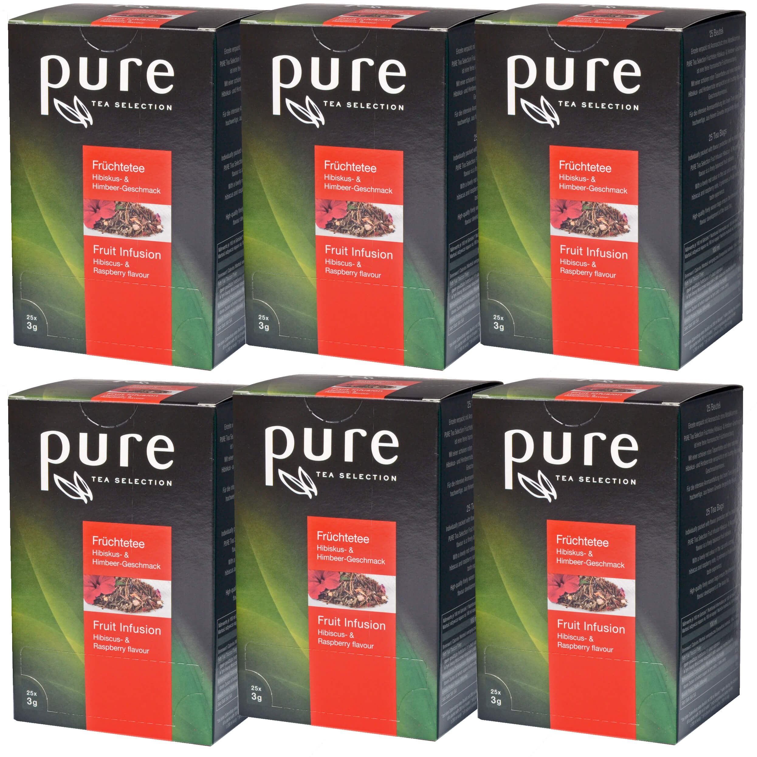 Tee-Hibiskus-Himbeere-aus-der-PURE-Tea-Selection-6-x-25-Sachets