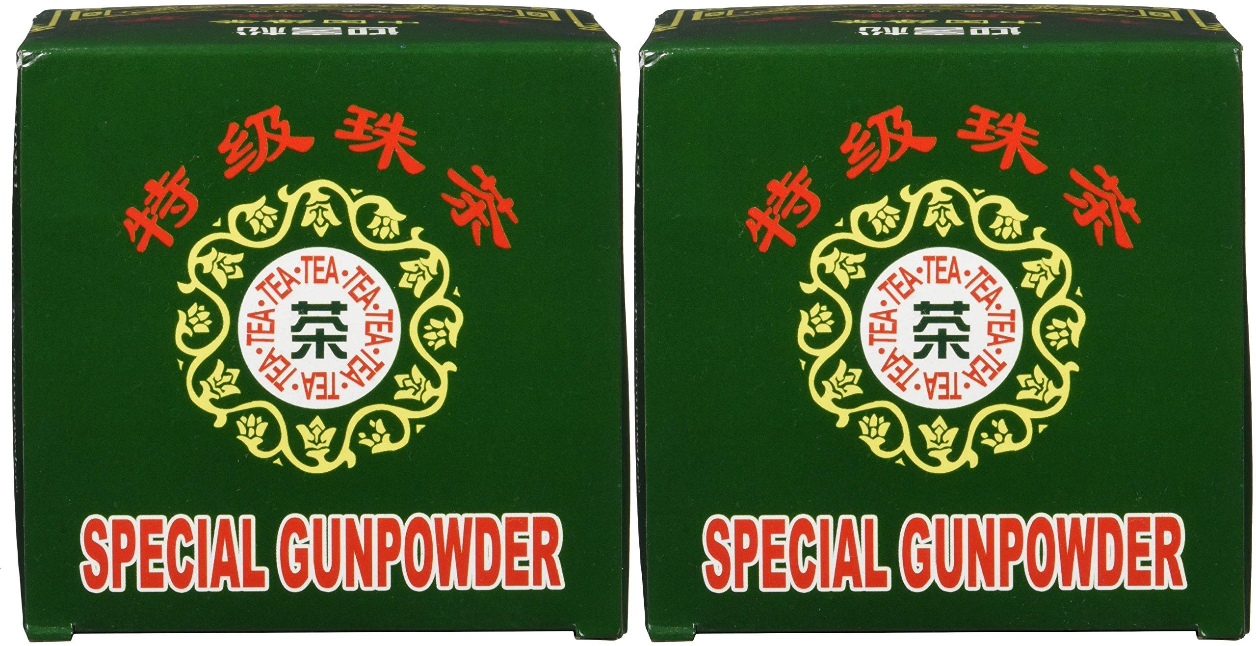 Greeting-Pine-Grner-Tee-Gunpowder-gerollt-2er-Pack-2-x-250-g-Packung
