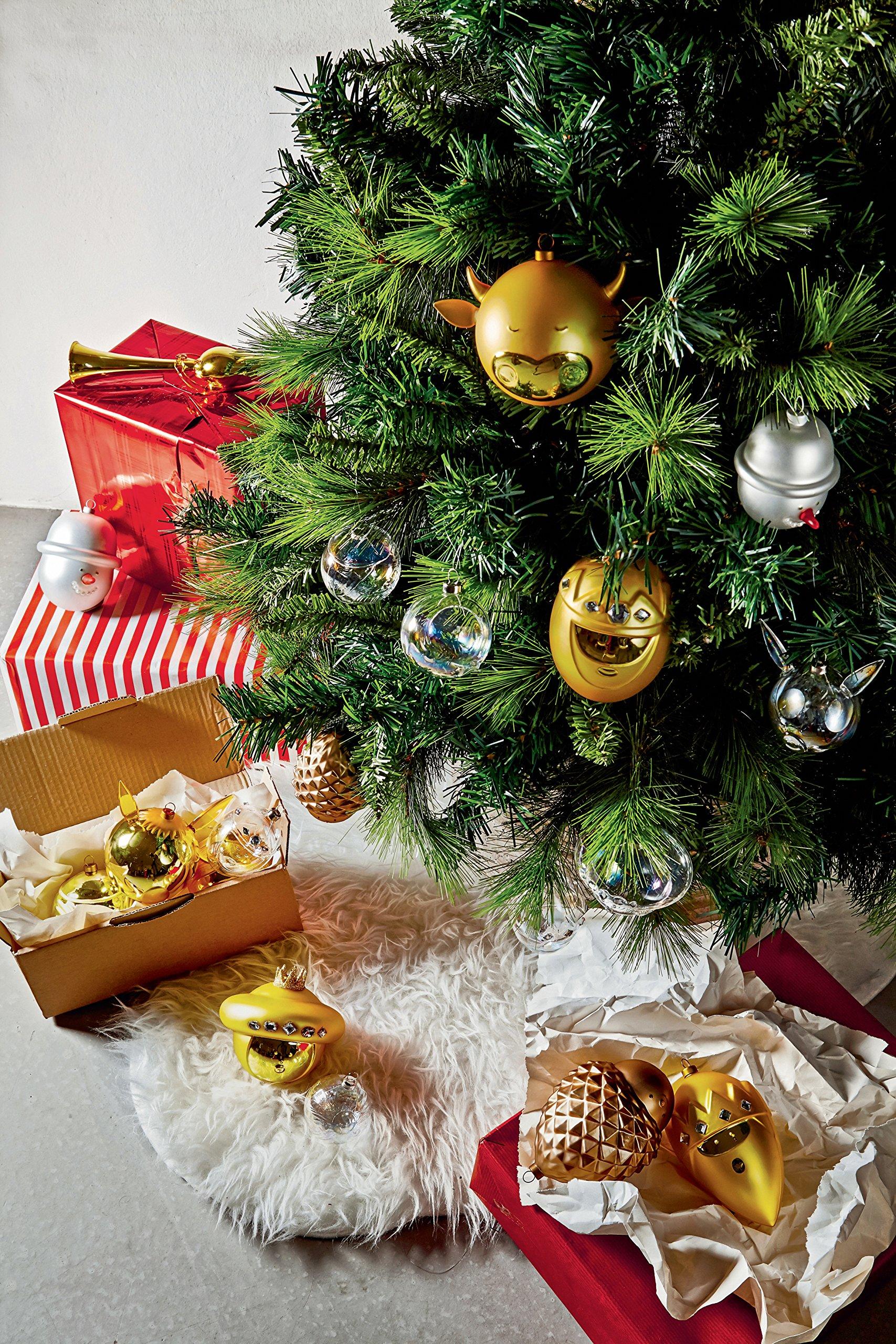 Alessi-AMJ15-Arcangiolo-Weihnachtsbaumspitze-aus-Glas-in-Gold