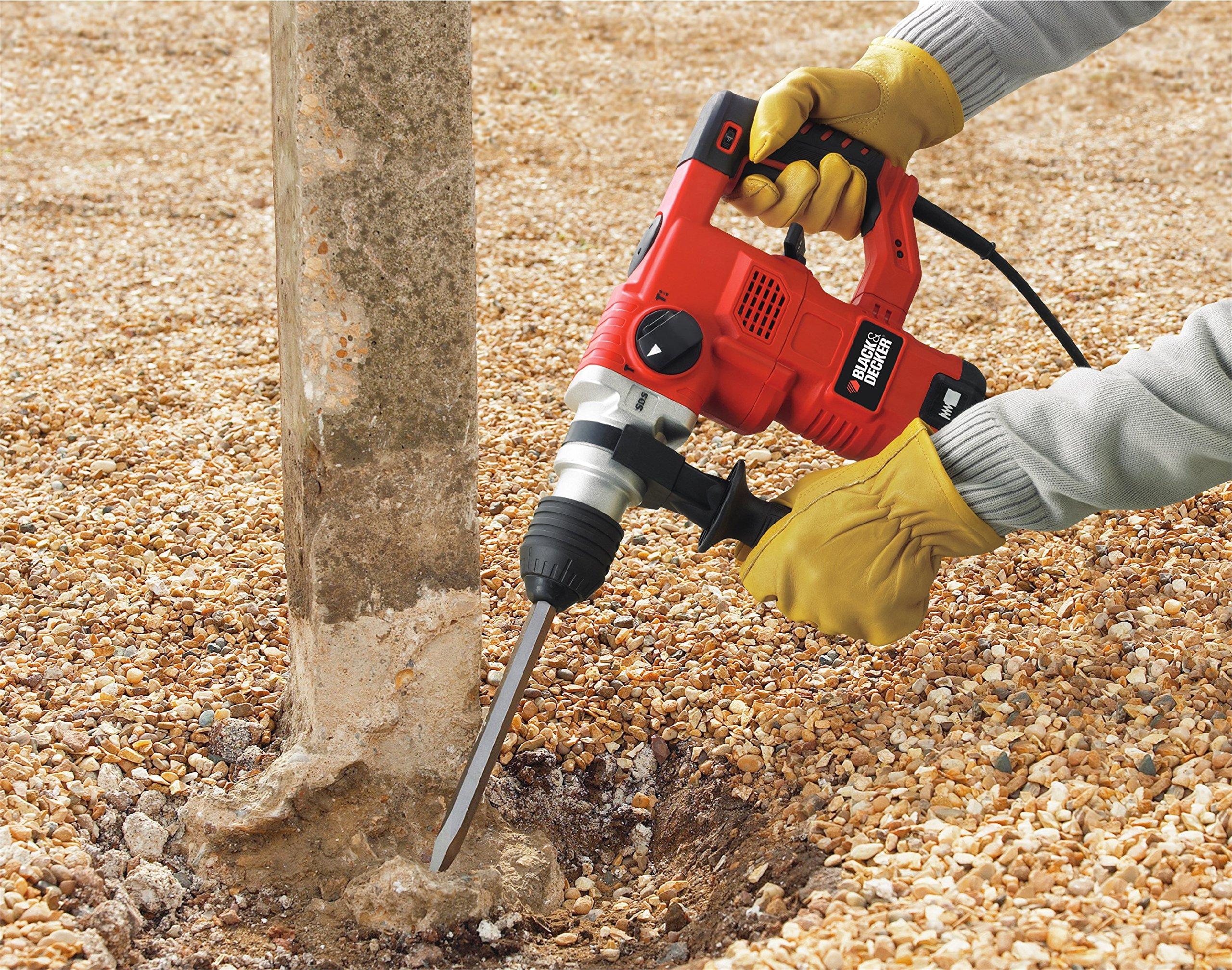 BlackDecker-pneumatischer-Bohrhammer